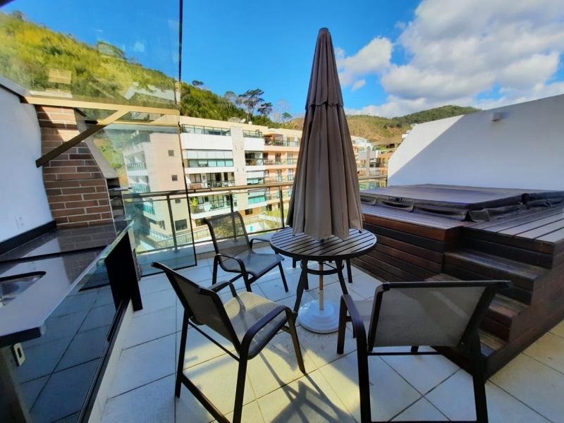 Cobertura para Alugar  à venda em Itaipava, Petrópolis - RJ - Foto 8