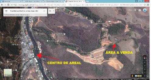 Terreno Comercial à venda em Areal, Centro