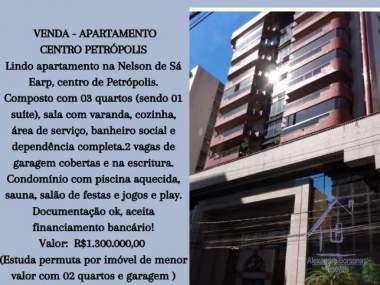 [CI 71] Apartamento em Centro - Petrópolis/RJ