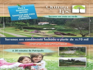 Comprar Terreno Residencial em Areal Centro