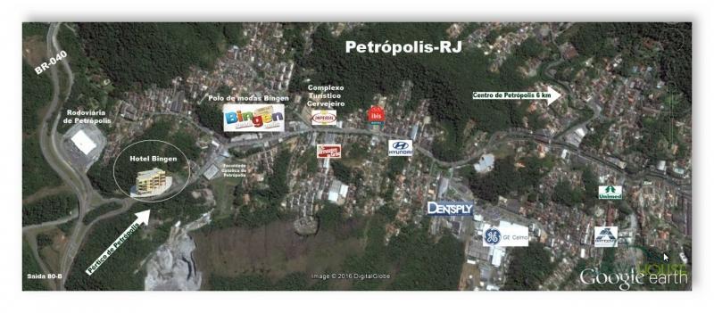 Terreno Comercial à venda em Bingen, Petrópolis - Foto 2