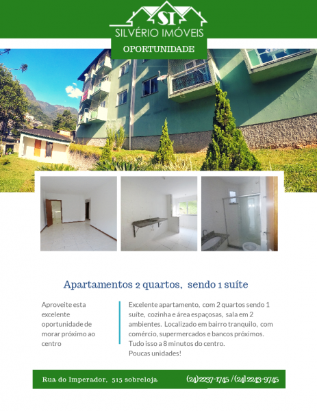 Apartamento para Alugar  à venda em Morin, Petrópolis - RJ - Foto 3